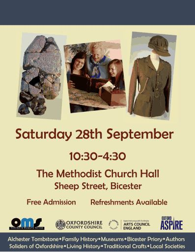 Bicester History & Archaeology Exhibition - Saturday 28 September 2013