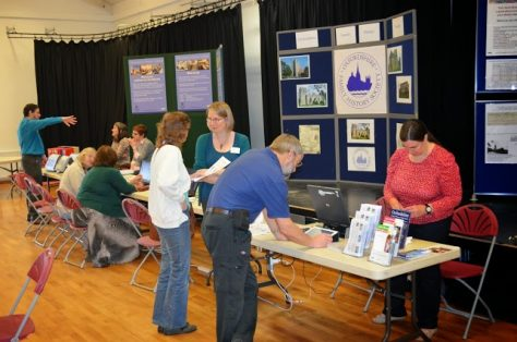 Oxfordshire Libraries stand