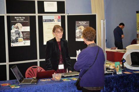 OFHS Fair 2013 Europeana stand