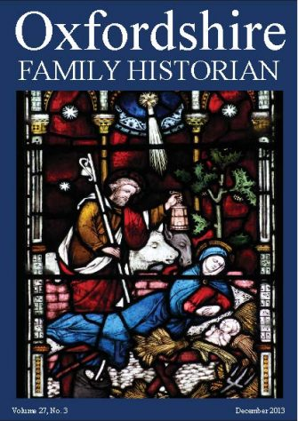 December 2013 Oxfordshire Family Historian
