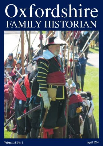 April 2014 Oxfordshire Family Historian