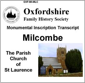 Cover of MI CD for Milcombe