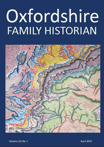 April 2015 Oxfordshire Family Historian