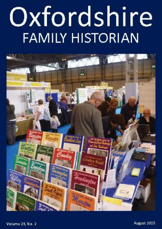 August 2015 Oxfordshire Family Historian
