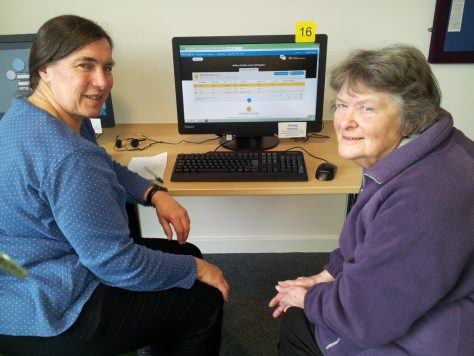 Family History Helpdesk in the new Bicester library