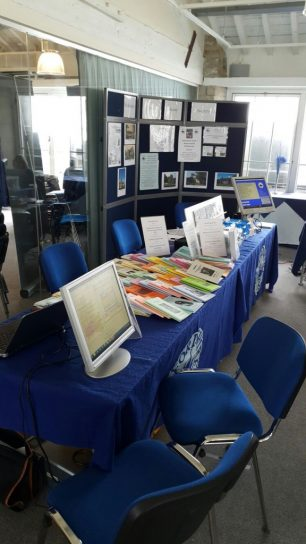 At Wiltshire FHS Family History day, 18 June 2016 at Swindon