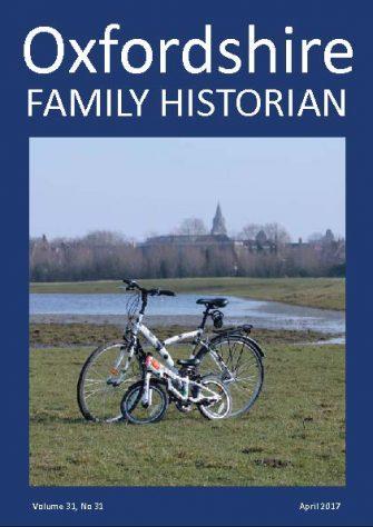 April 2017 Oxfordshire Family Historian