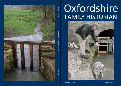 August 2017 Oxfordshire Family Historian