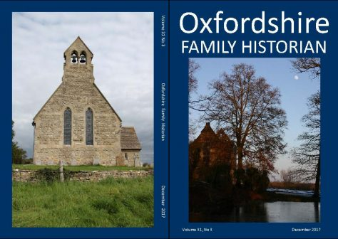 December 2017 Oxfordshire Family Historian