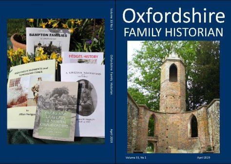 April 2019 Oxfordshire Family Historian