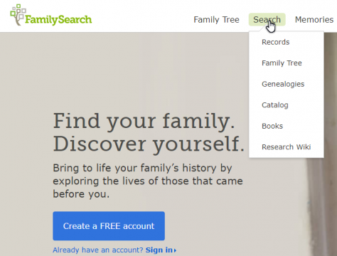 An Exploration of FamilySearch.org – Oxfordshire FHS Talk – 3 June 2019