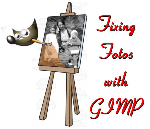 Fixing Photos with GIMP