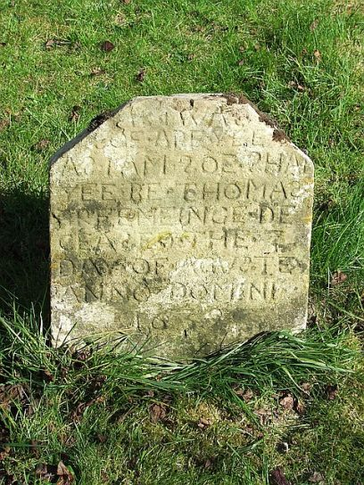 Gravestone at Great Milton