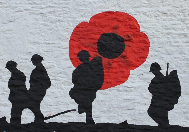War painting Minster Lovell