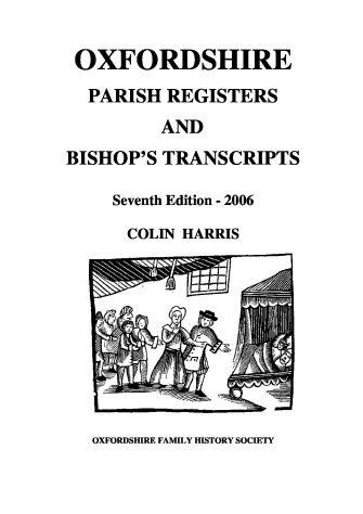 Oxfordshire Parish Registers and Bishop's Transcripts