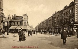 A brief history of Myddelton Street: a London street through the ages