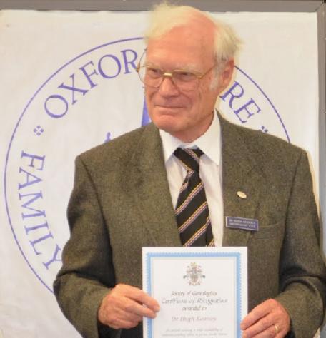 Dr Hugh Kearsey 1931-2020