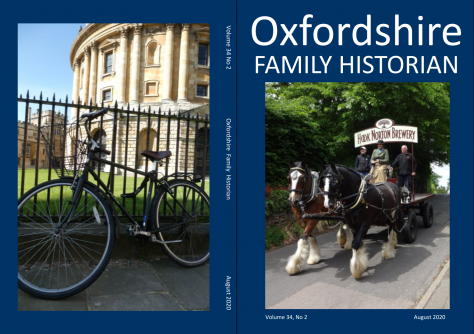 August 2020 Oxfordshire Family Historian
