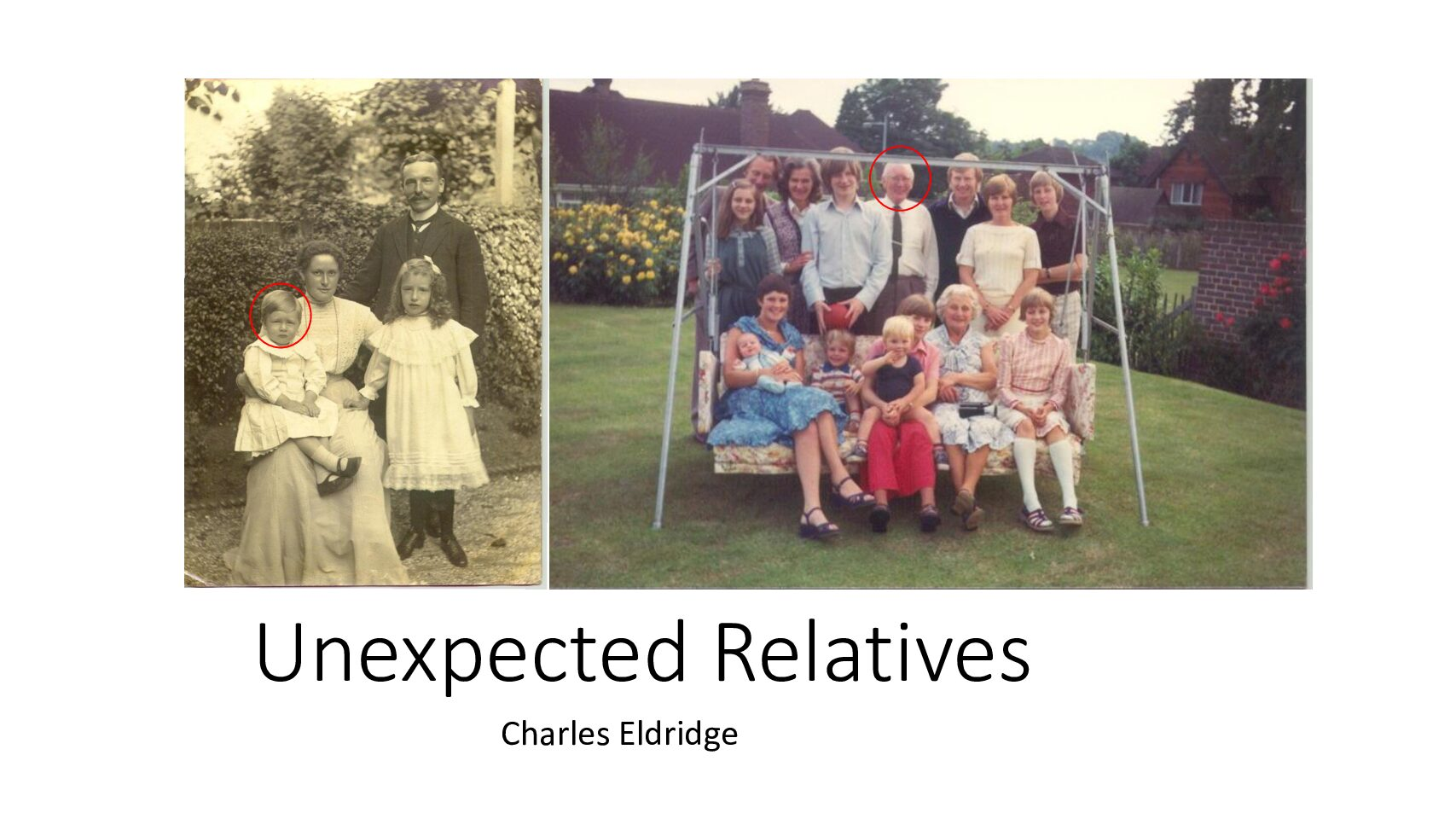Unexpected Relatives - by Charles Eldridge